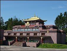 Samye Ling monastery in Dumfriesshire