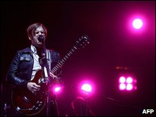 Kings of Leon at Glastonbury
