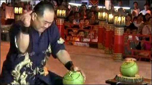 Malaysian Kung Fu expert Ho Eng Hui