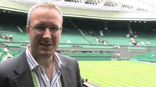 BBC Radio 5 live Tennis Correspondent Jonathan Overend