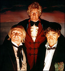 The Three Doctors, 1972