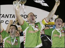 Cork City won the 2008 Setanta Sports Cup