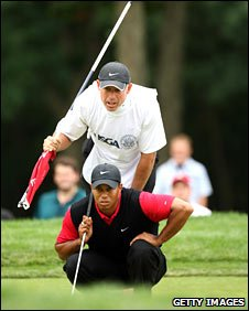 World number one Tiger Woods