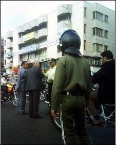 Police in Tehran
