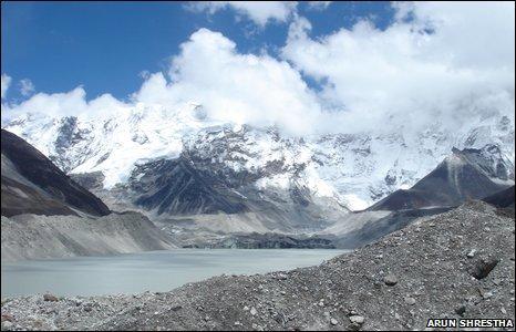Glacial Lake, Nepal