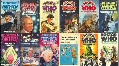 Dr Who novels