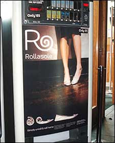 Rollasole vending machine