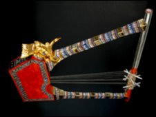 The reconstructed Lyre of Ur