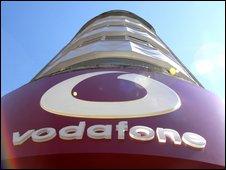 Vodafone store, BBC