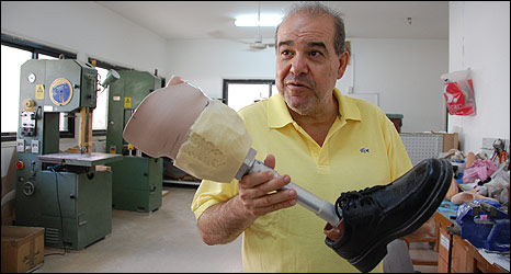 Hazim Shawwa, Director of Gaza artificial limb centre