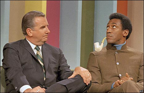 'Ed McMahon and Bill Cosby in 1968' from the web at 'http://newsimg.bbc.co.uk/media/images/45962000/jpg/_45962800_mcmahoncosby1968_ap.jpg'