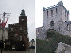 Dumfries and Jedburgh