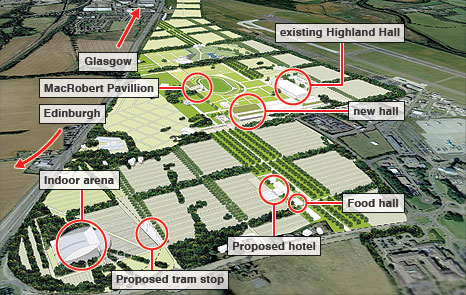 Royal Highland Showground artist impression
