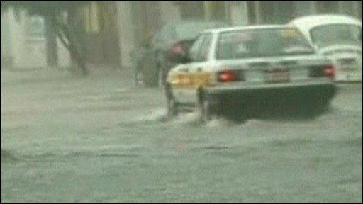 Car in Mexico