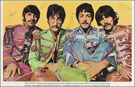 1967 Sgt Pepper poster