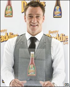 John Terry with 'Daddy of the Year award