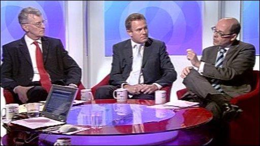Hilary Benn, Nick Herbert & Nick Robinson