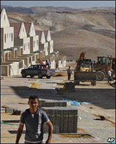 Construction of Jewish settlement in the West Bank