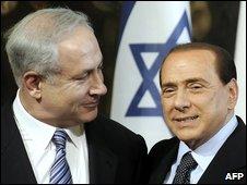 Benjamin Netanyahu in Rome