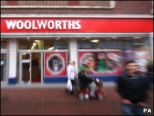 A Woolworths store (in November 2008)