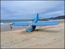 The crashed microlite