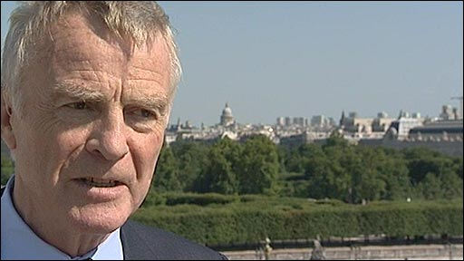 FIA President Max Mosley