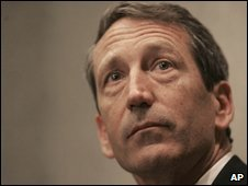 South Carolina Governor Mark Sanford (file image)