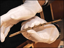 A flute carved more than 35,000 years ago has been unearthed in Germany and scientists believe it is the worlds oldest musical instrument.