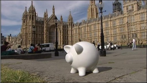 Westminster piggy bank