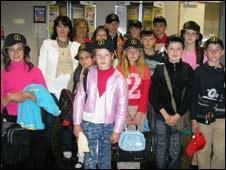 Chernobyl kids visiting the UK