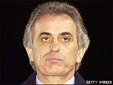 Elephants coach Vahid Halilhodzic