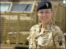 Major Anna-Lee Johnston