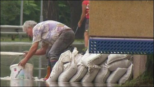 Austria flooding