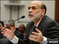 Ben Bernanke testifies before a House of Representatives committee
