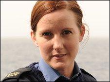 Leading Seaman Lucy Gilston
