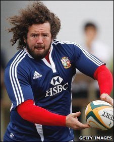 Adam Jones has taken over from Phil Vickery as Lions tight-head prop