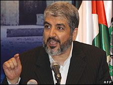 Damascus-based Hamas leader Khaled Meshaal