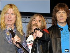 Spinal Tap at the nominations launch