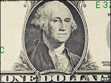 Detail from a dollar bill