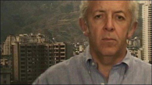 Jeremy Bowen in Tehran