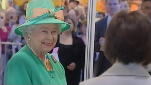 The Queen at the Royal Highland Show