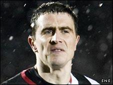St Mirren striker Craig Dargo