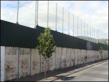 peace line, Belfast