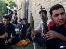 Mehdi Army militia in Iraq