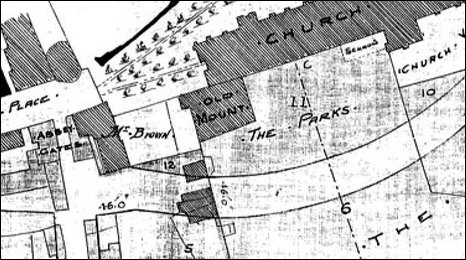 Map of Selby from 1792