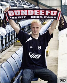 Dundee striker Leigh Griffiths