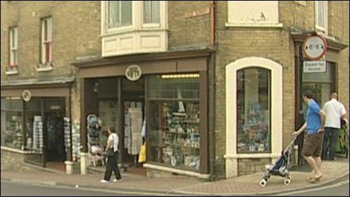 Shanklin gift shop