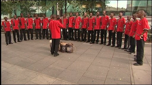 Kenyan Choir