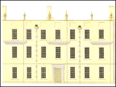 Artist impression of Llanelly House