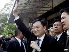 Thaksin Shinawatra, file image